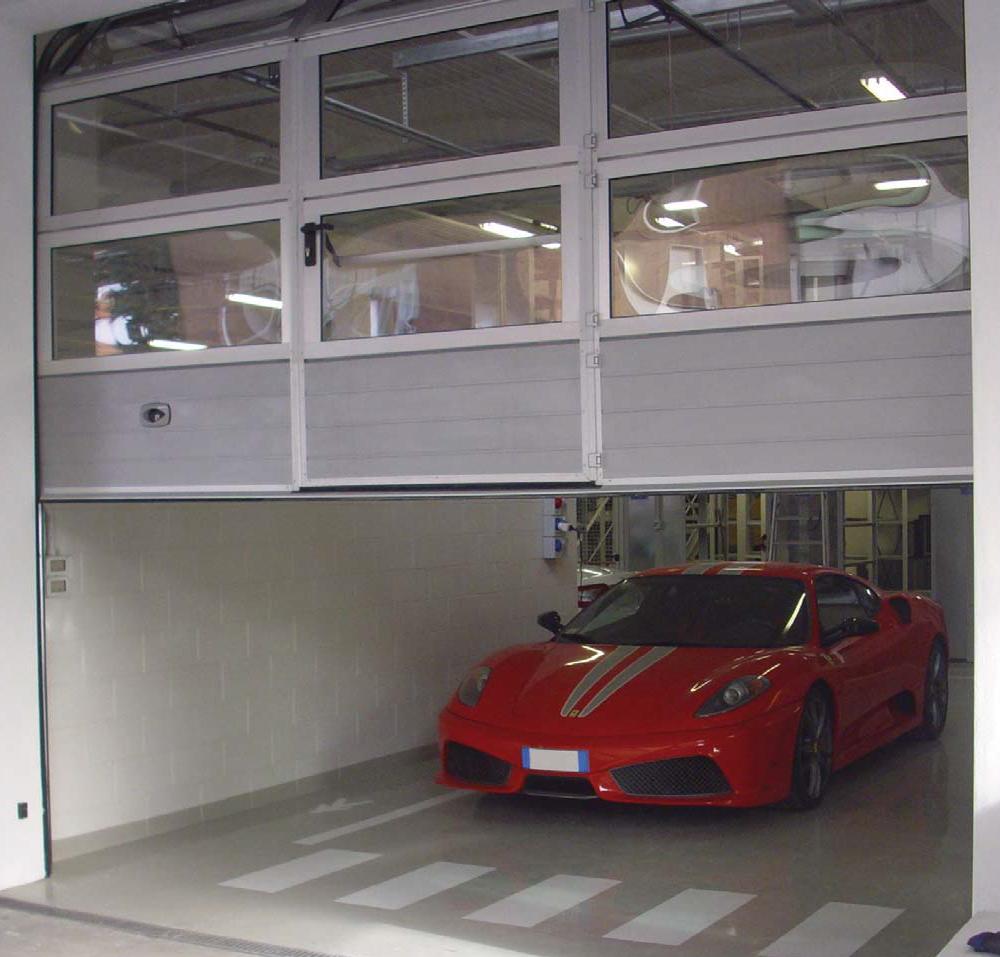 Light Sectional Doors